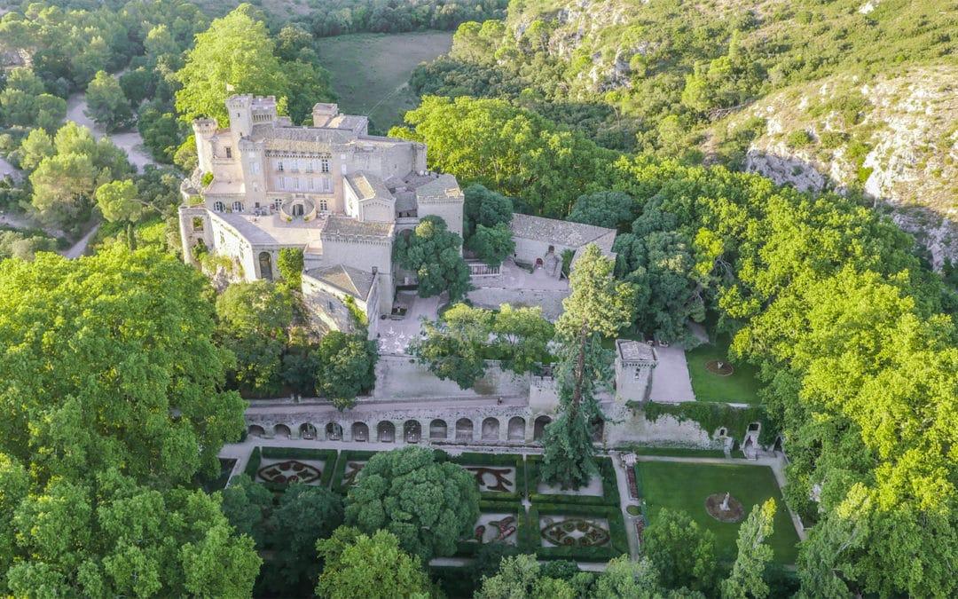 Vianney d'Alançon relance le Château de la Barben