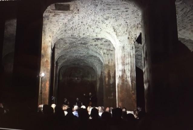 La cathédrale souterraine se met en musique